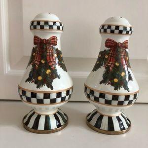 MacKenzie Childs Salt and Pepper Shakers